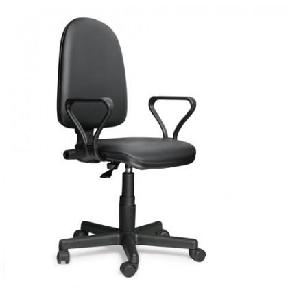 Кресло лабораторное с подлокотниками