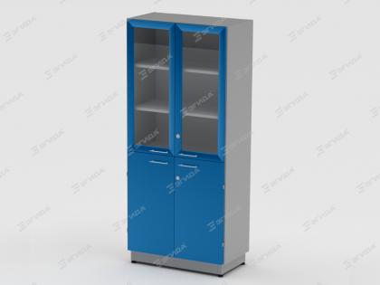 Шкаф для хранения посуды и приборов широкий