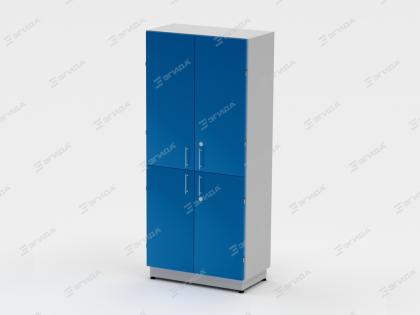 Шкаф для хранения реактивов широкий