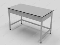 Стол лабораторный с обрамлением