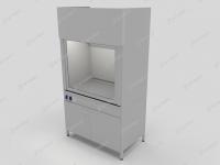 Шкаф вытяжной с химическистойким покрытием (полипропилен)